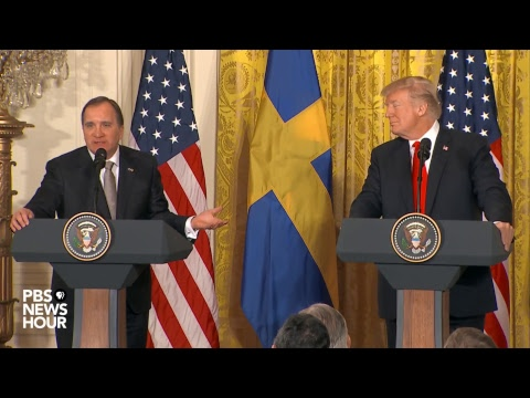 Xxx Mp4 WATCH President Trump Holds Joint Press Conference With Swedish Prime Minister 3gp Sex