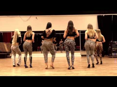 Hot swedish girls dancing Kizomba