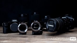 Sony A-Mount Lens Adapters: The Breakdown with Miguel Quiles