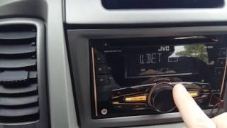 JVC KW-R520 vs Opel vivaro