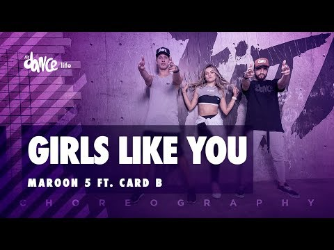 Girls Like You - Maroon 5 ft. Card B | FitDance Life (Choreography ) Dance Video