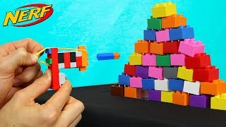 WORLDS SMALLEST LEGO NERF GUN!!