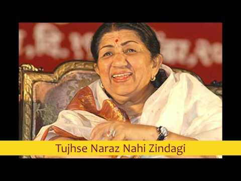 Tujhse Naraz Nahi Zindagi - Lata Mangeshkar best early 80's songs