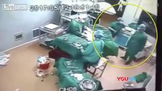 Doctor and Nurse fight during Surgery in Operation Theater