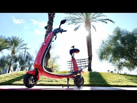 Ford electric scooter first ride