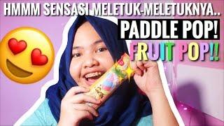 BARU! kejutan seru Paddle Pop - Fruit Pop yg bikin semangat