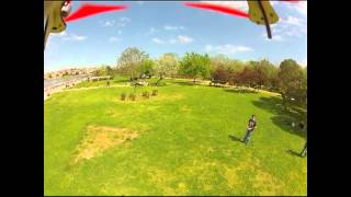 Aerial Hexacopter Maiden Flight Video with MQ-202 MicroQuad