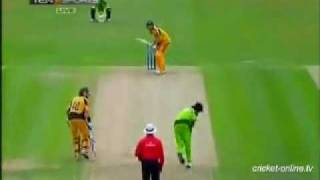 Mohammad Aamer 3-27 against Australia
