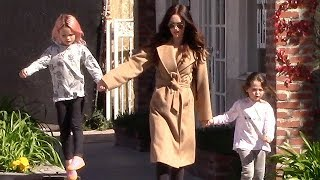 Megan Fox Enjoying a Beautiful Afternoon With Her Boys - EXCLUSIVE