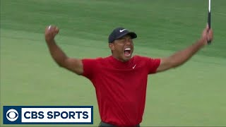 Tiger Woods wins the 2019 Masters | Golf | CBS Sports