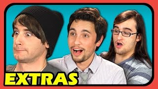 YouTubers React to Try to Watch This Without Laughing or Grinning #4 (Extras #86)