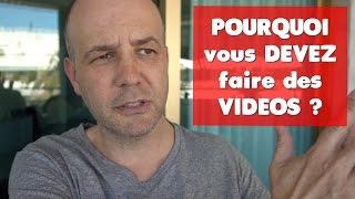 COACHING David KOMSI : POURQUOI vous DEVEZ faire des VIDEOS ?