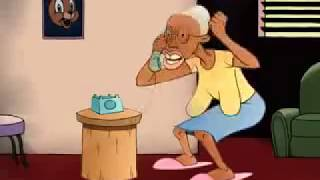 Jamaican Comedy - Bad Mouth Granny - Wrong Number