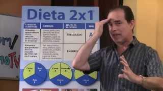 Episodio #35 ¿Cómo puedo adelgazar con la Dieta 2x1 y Dieta 3x1?