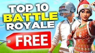 TOP 10 FREE Battle Royale Games! *NEW* (Games Like Fortnite and PUBG)