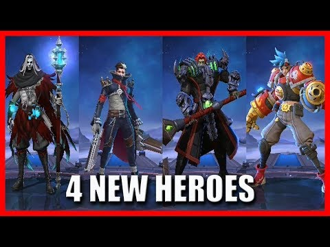Xxx Mp4 4 NEW HEROES COMING IN THE ORIGINAL SERVER MOBILE LEGENDS 3gp Sex