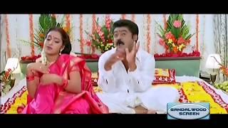 Comedy First Night Song || Govinda Gopala || Hey Vayyari || Jaggesh,Komal,Neethu,Sangeetha