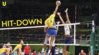 TOP 10 HIT-DOWN VOLLEYBALL SPIKES