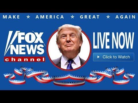 Fox News Live Stream 24/7 HD - President Donald Trump Breaking News - MSNBC Live - CNN Live