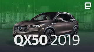 Infiniti QX50 First Look LIVE at LA Auto Show 2017