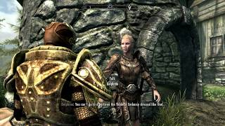 Skyrim Special Edition - Diplomatic Immunity: Meet Delphine: Change Into Party Clothes, Invitation