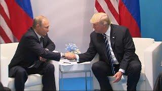 Vladimir Putin trusted more than Donald Trump, says poll