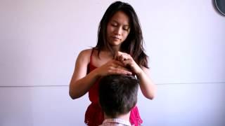 ASMR Men's Relaxing Face and Scalp Massage Part 3