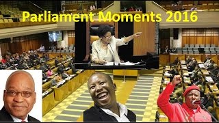 Moments In Parliament 2016. Enjoy It All