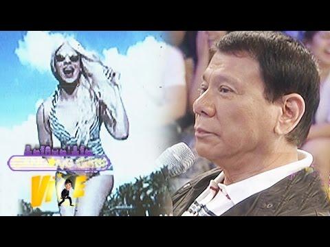 Mayor Duterte didn t recognize Vice in photos