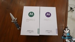 Moto Z Unboxing with Moto Mods Hands on - iGyaan 4k