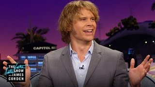 How Eric Christian Olsen Handled His First Major Paycheck
