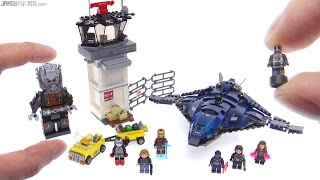 LEGO Marvel Super Hero Airport Battle review! 76051