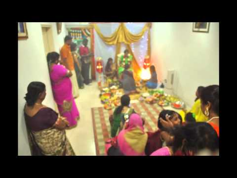 Rathiga's Seemantham Ceremony