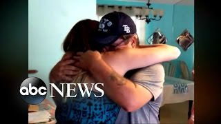 Daughter Gives Stepfather Adoption Papers for his Birthday