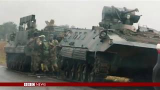 Zimbabwe army takeover  Latest Updates   BBC News mp4