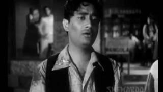 DUKHI MAN MERE , SUN MERA KEHNA-FUNTOOSH (1956)-SAHIR - KISHORE KUMAR-S D BURMAN