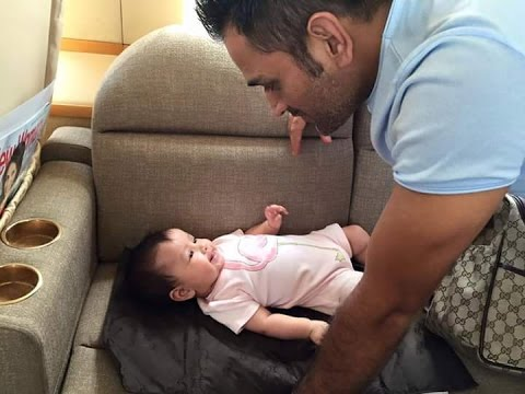 Xxx Mp4 MS Dhoni With His Daughter Ziva Dhoni Leaked New Video 3gp Sex
