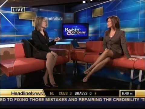 Robin Meade Sexy Legs