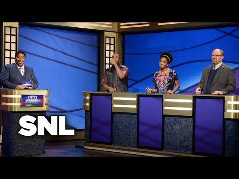 Black Jeopardy Saturday Night Live