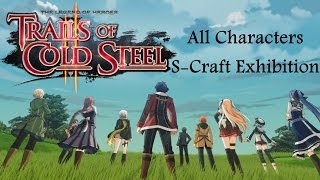 The Legend of Heroes: Trails of Cold Steel II - S-Craft Exhibition