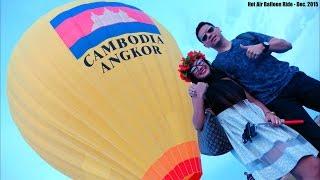 Asian Travel: Riding a Hot Air Balloon in Siem Reap Cambodia + A Tuk Tuk Ride