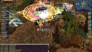 SoS - Skid row lvl 109 crazy Warrior AoE'ing Amorica Forest lvl 150 map