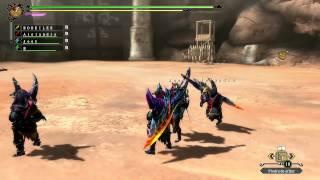 Monster Hunter 3 Ultimate WiiU =El Gran Cazador versión divertida=