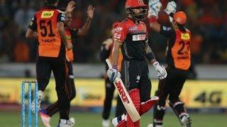 Mustafiz Takes Virat Kholi's wicket in IPL HD