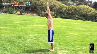 How to do a Arabian Flip Tutorial- 180 Front Back flip gymnastics lesson