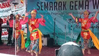 Tarian Genjring di Kota Tua Performed by Celesta, Sufei dan Alicia