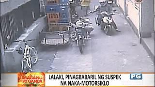 SAPUL SA CCTV: Killer na naka-motor, binalikan ang biktima