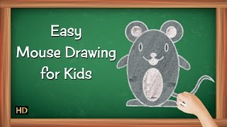 Easy Mouse Drawing for Kids | Kids Learning Video | Shemaroo Kids