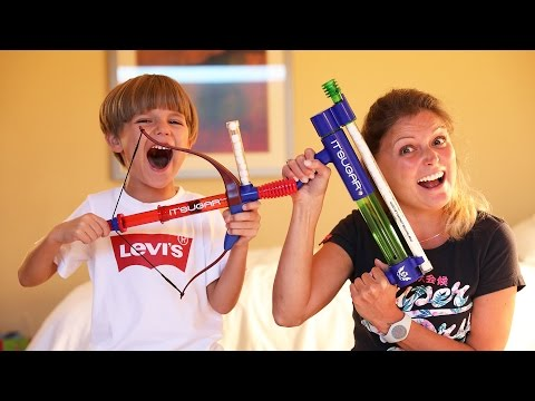 Nerf Like Marshmallow Guns Sweet Toys Fun