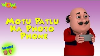 Motu Patlu Ka Photo Phone - Motu Patlu in Hindi - 3D Animation Cartoon for Kids